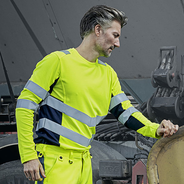 ENGELWorkwear Safety t-shirt