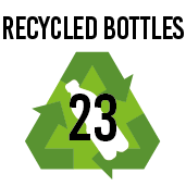 Recycled Bottles 23
