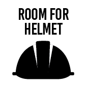 Room for helmet
